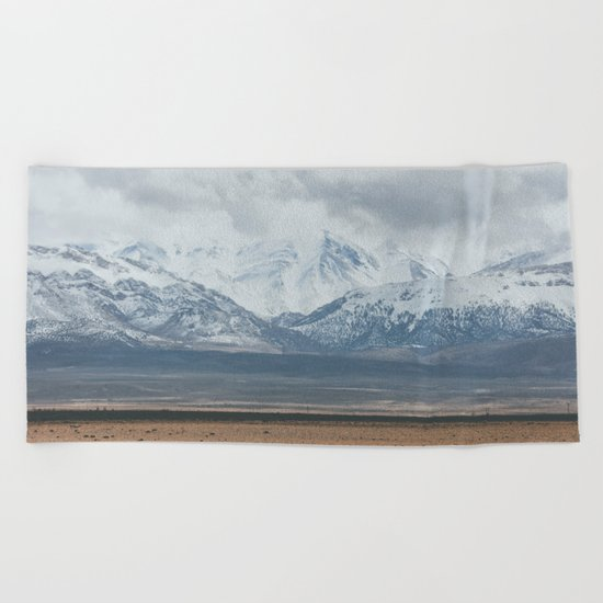 Atlas Mountains Beach Towel