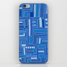 Bloo-bloo-bee-doo! iPhone Skin