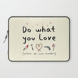 Motivational Poster Laptop Sleeve