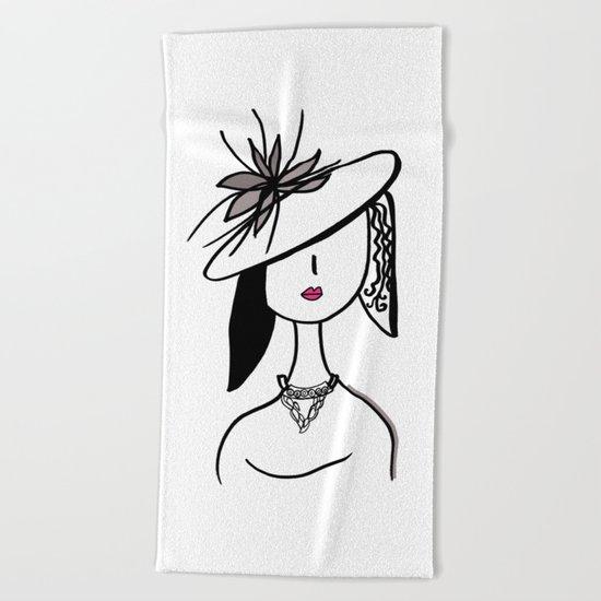 Glamour Beach Towel
