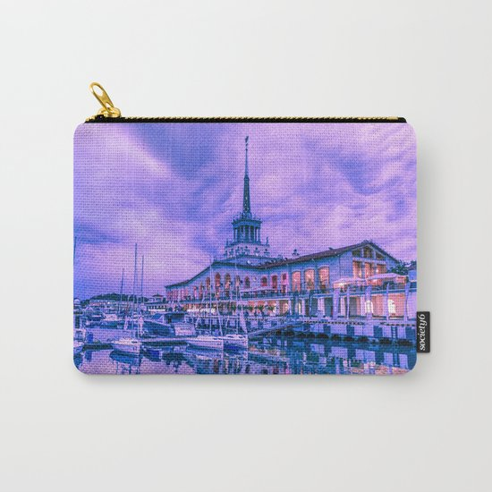 Marine station of Sochi Carry-All Pouch
