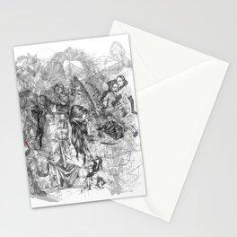 carré mystique Stationery Cards
