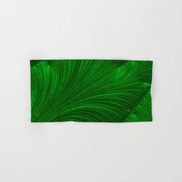 Renaissance Green Hand & Bath Towel