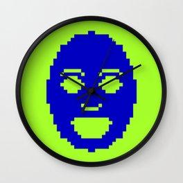 Pixel Face Wall Clock