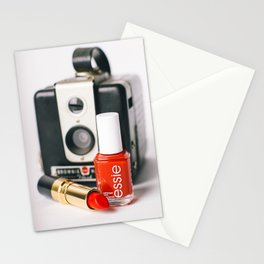 Class Comes in Red Stationery Cards