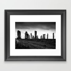 Callanish Stones Framed Art Print