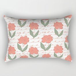 Summer flower Rectangular Pillow