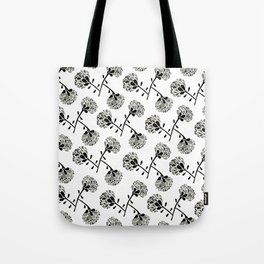 floral freefall Tote Bag