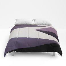 Dazzle Ship Camouflage Graphic Design (Detail) Comforters