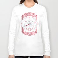 rogue Long Sleeve T-shirts featuring Rogue Leader by Buzatron