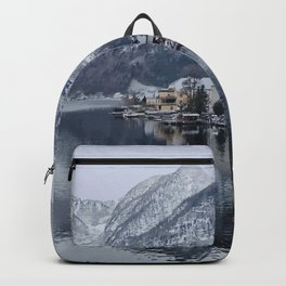 Hallstatt, Austria Travel Artwork Backpack