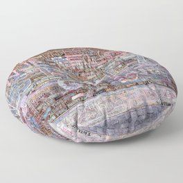 This is the year | Noriko Aizawa Buckles Floor Pillow