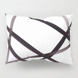 pylon, industrial, minimal, lines, ink Pillow Sham