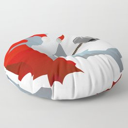 Hammer-Head Floor Pillow
