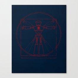 Robot Anatomy Canvas Print