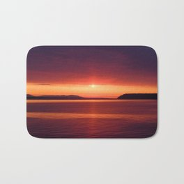 Colorful Sunset Bath Mat