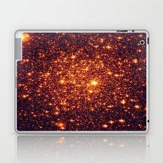 Copper Bronze Glitter Stars Laptop & iPad Skin