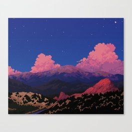 Sunset at Garden of the Gods Canvas Print