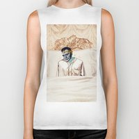infamous Biker Tanks featuring Arsenic and Old Lace by Alec Goss