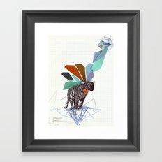 T I G E R Framed Art Print