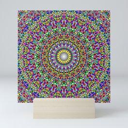 Floral Bohemian Magic Mandala Mini Art Print