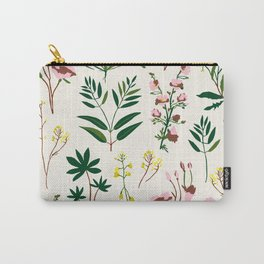 WILDFLOWER STUDY Carry-All Pouch