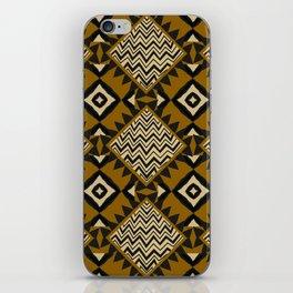 Checkered Tribal iPhone Skin