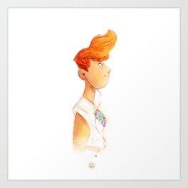 New York Girl Art Print