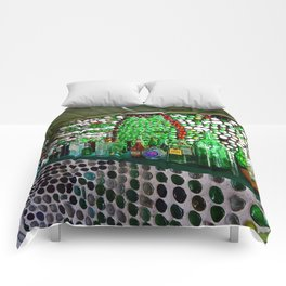 Bottle House Bar Comforters