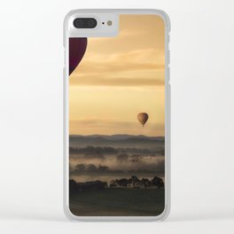 Hot Air Clear iPhone Case