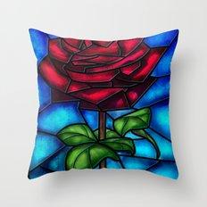 Eternal Rose. Throw Pillow