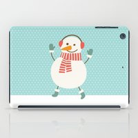 snowman iPad Cases featuring Snowman by Mr and Mrs Quirynen