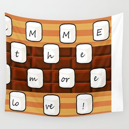 smore love  Wall Tapestry