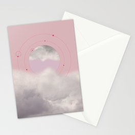 Floating in Clouds Stationery Cards