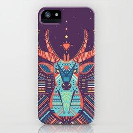 Symmetric Animals. DEER iPhone Case