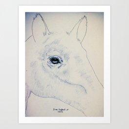 Absract Horse Art Print