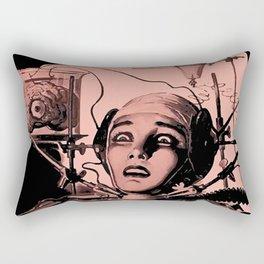 The Brain That Wouldn't Die, 1962 Horror Movie Rectangular Pillow