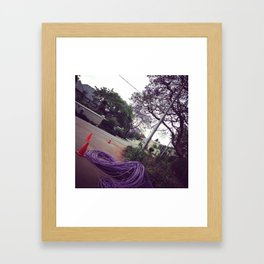 #260 #Purple #Infrastructure complementing our #Jaccarandas Framed Art Print