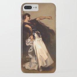 A Spanish Dancer by John Singer Sargent - Vintage Fine Art Oil Painting iPhone Case