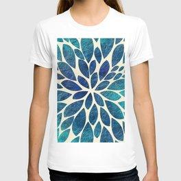 Petal Burst - Turquoise T-shirt