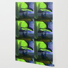 Tardis in the planet of alien Wallpaper