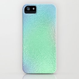 Simply Metallic in Holographic Rainbow iPhone Case