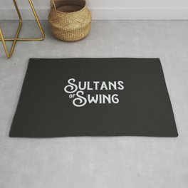 Best English 70s classic rock song ever   Rock and Roll lovers gift Rug