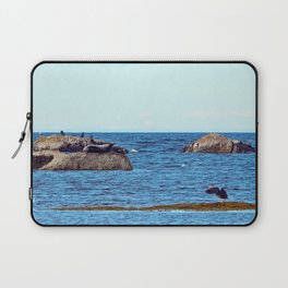 Time to Fly, Seal you Later Laptop Sleeve