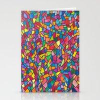 mosaic Stationery Cards featuring Mosaic by Juliana Kroscen