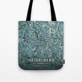 Heidelberg, Germany - Cream Blue Tote Bag
