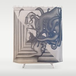 Dream Extraction Shower Curtain