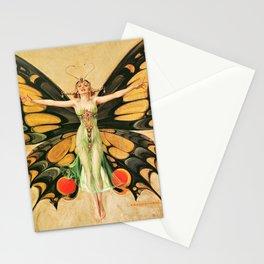 12,000pixel-500dpi - Joseph Christian Leyendecker - Flapper - Digital Remastered Edition Stationery Cards