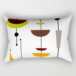 Mid Century 14 Rectangular Pillow