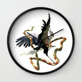 Secretary bird Wall Clock